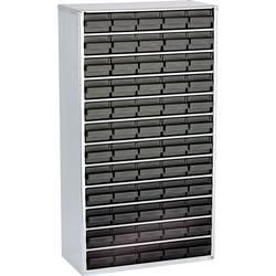Raaco, 1260-00, 102513, přihrádek: 60, 306 x 150 x 552 , černá, stříbrná