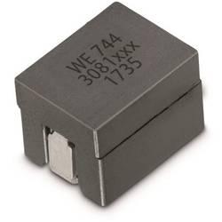 Cívka SMD Würth Elektronik WE-HCM SMD 744301025, 250 nH, 38 A, 20 %, 1190 , 1 ks