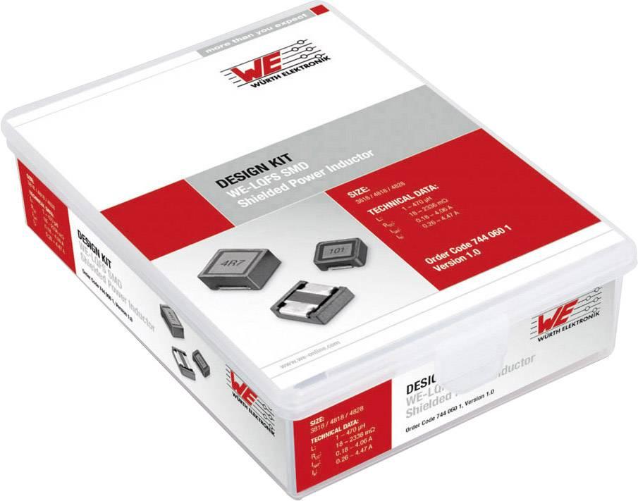 Akumulační tlumivka - souprava Würth Elektronik Kit WE-LQFS 7440601, 1 ks