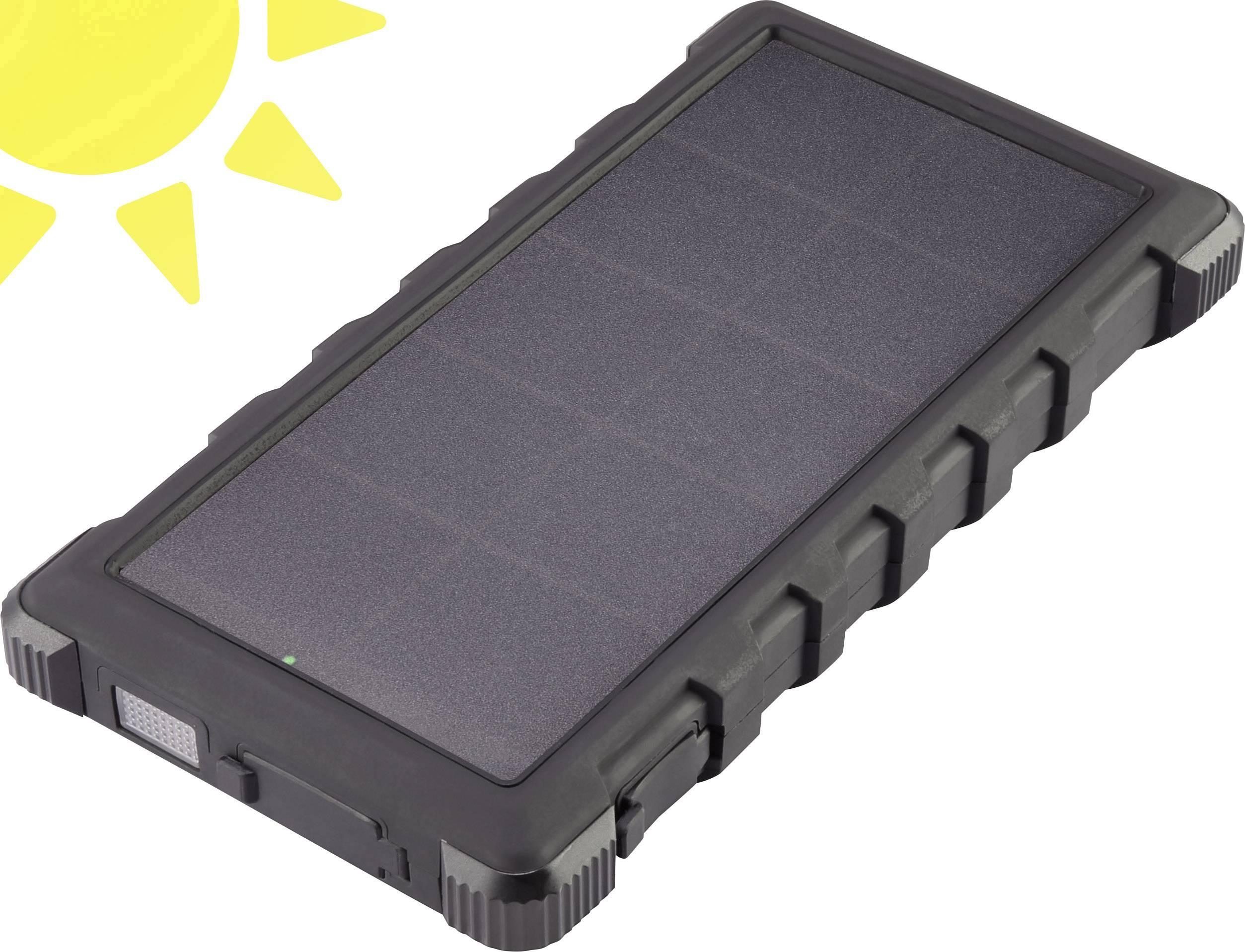 Powerbanka VOLTCRAFT SL-10C, Li-Pol 10000 mAh, černá