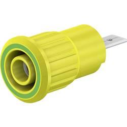 Bezpečnostní laboratorní zásuvka Stäubli SEB4-F/A, zásuvka, vestavná, zelená, žlutá, 1 ks