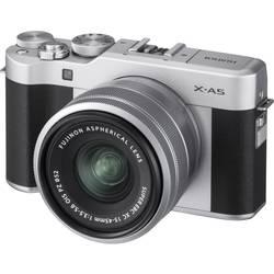 Systémový fotoaparát Fujifilm X-A5 XC15-45 mm, 24.2 MPix, stříbrná