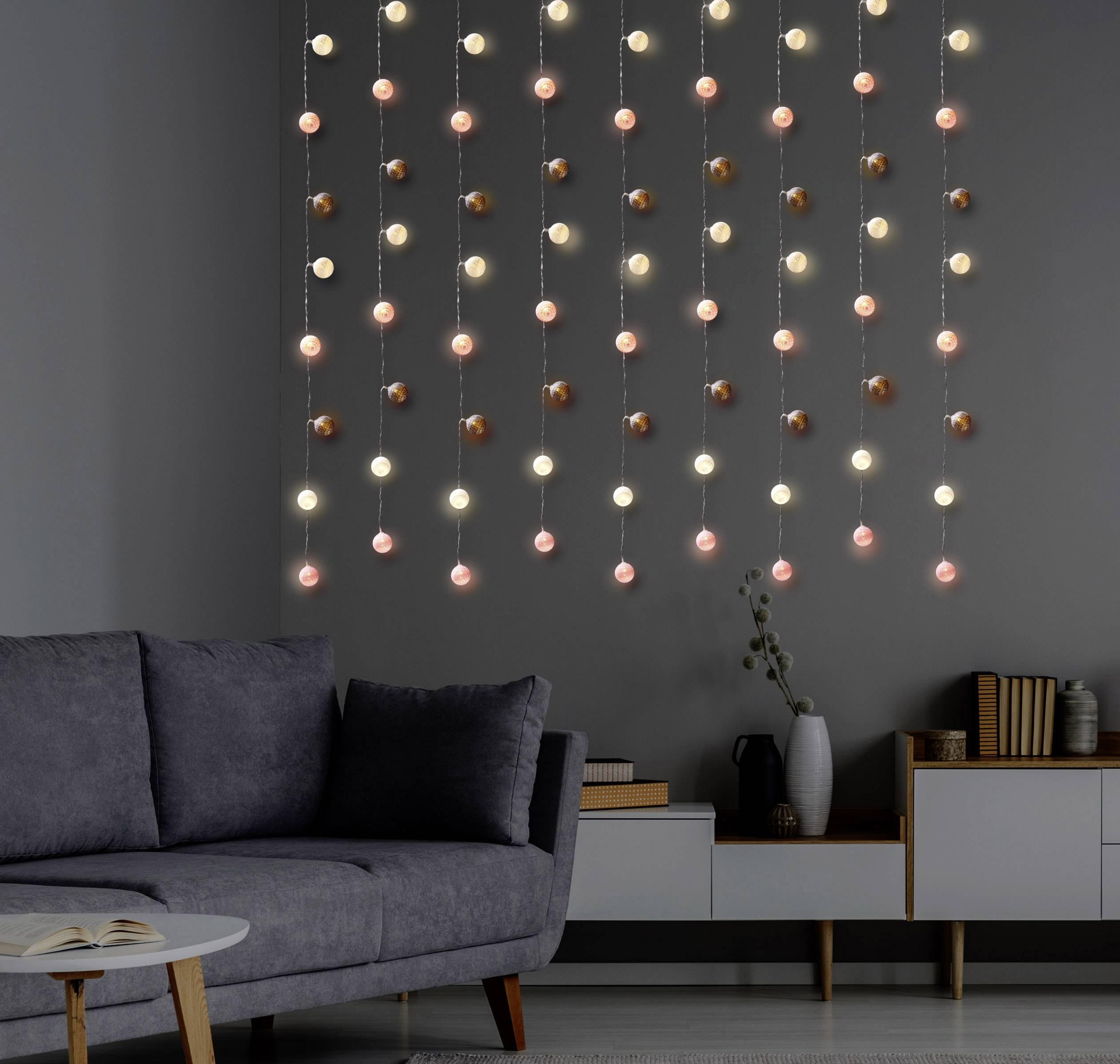 LED světelný řetěz s motivem, vánoční koule Polarlite PL-8393880;PLKL-20WWSC, vnitřní, na baterii, LED 20, teplá bílá, 3.15 m