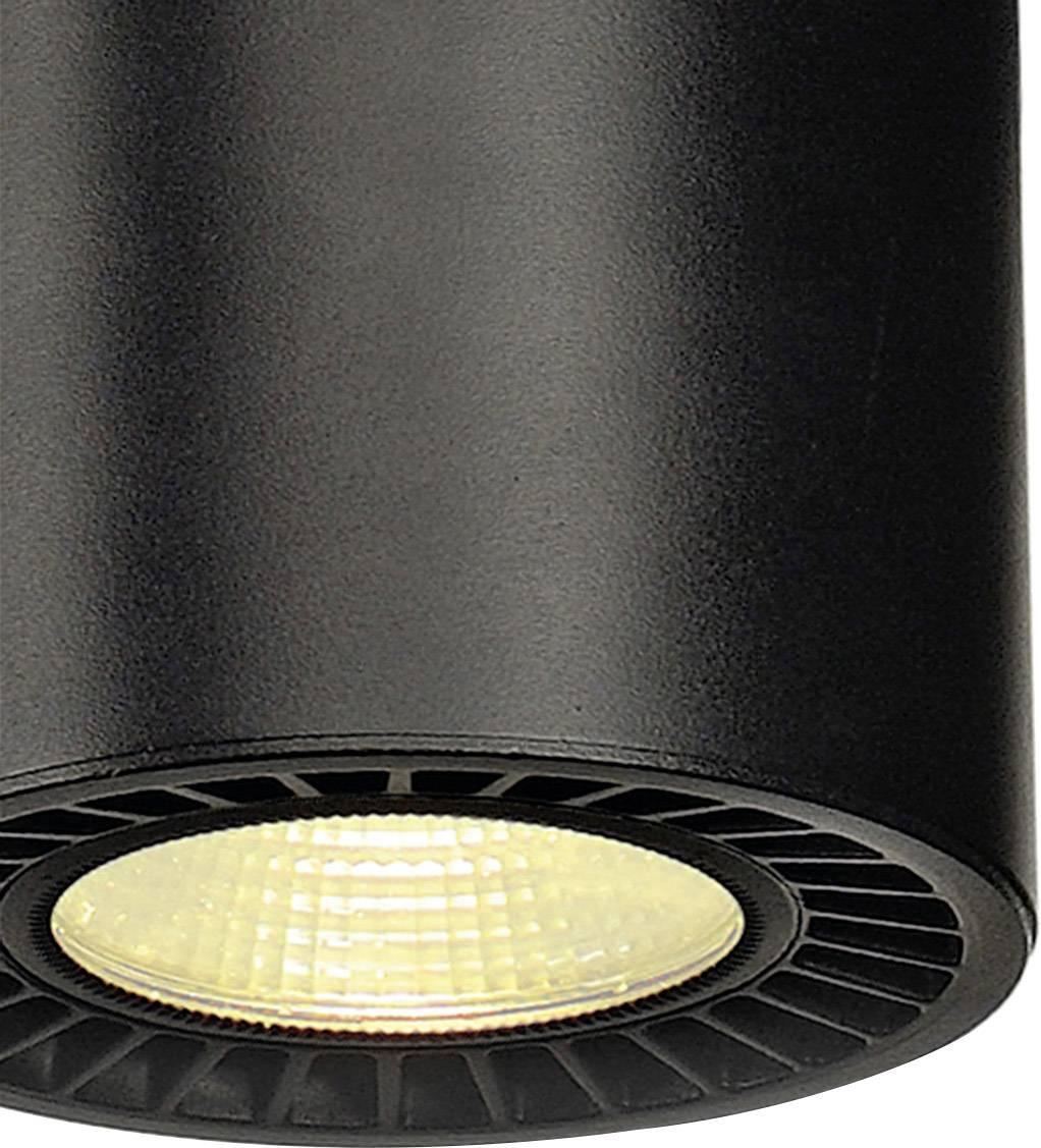 LED závěsný lustr SLV 133100, 35 W, černá, černá