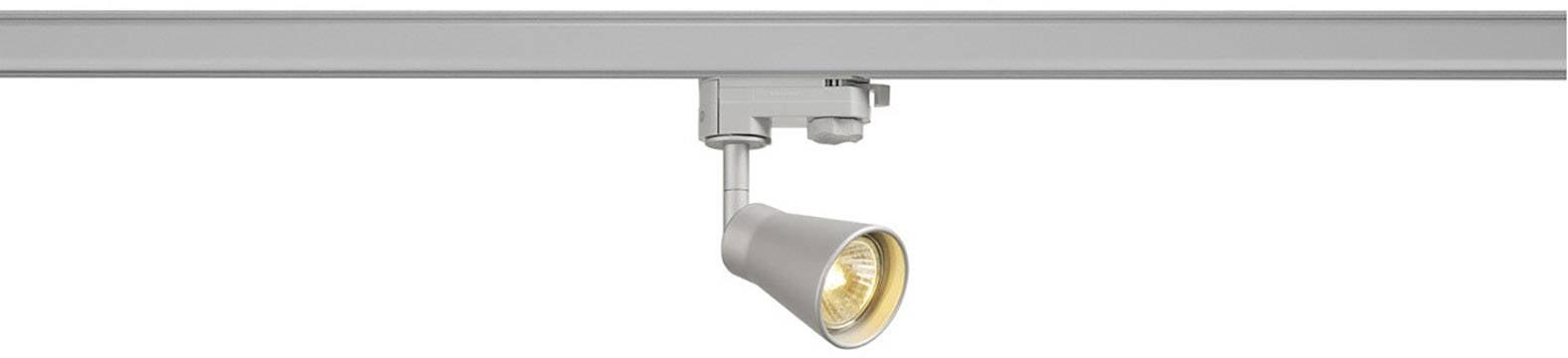 Svítidla do lištových systémů (230 V) GU10 SLV 152644 stříbrná
