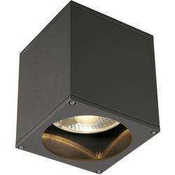 Venkovní stropní osvětlení halogenová žárovka, LED GU10 75 W SLV Big Theo 229555 antracitová