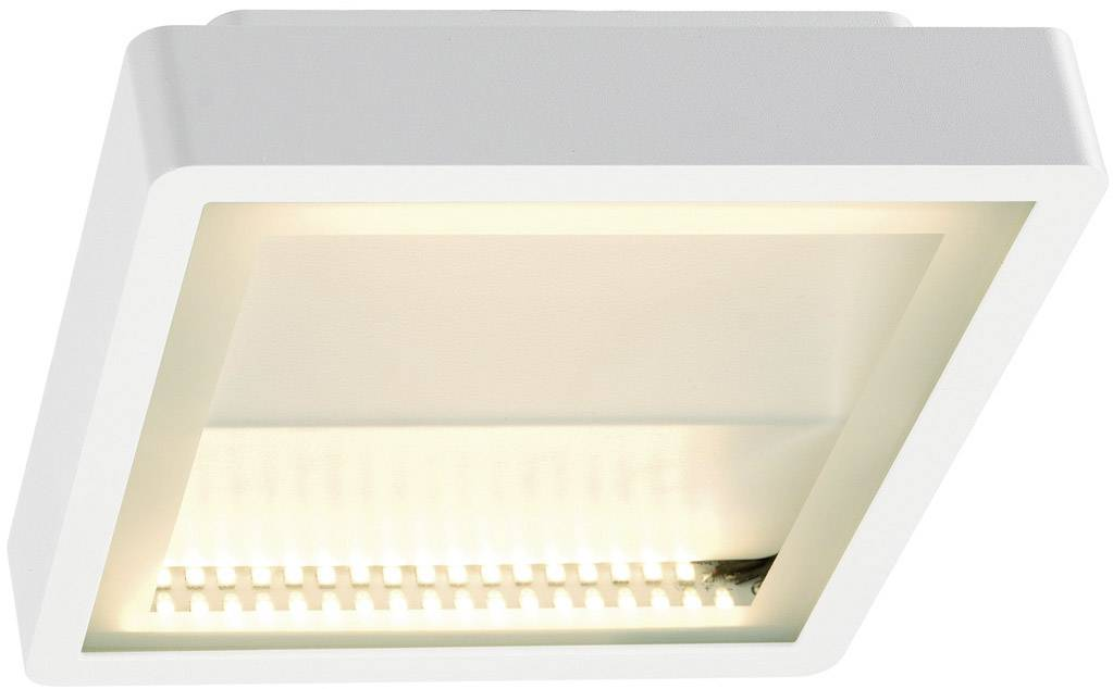 Venkovní stropní LED osvětlení SLV 230891, 15 W, bílá, bílá