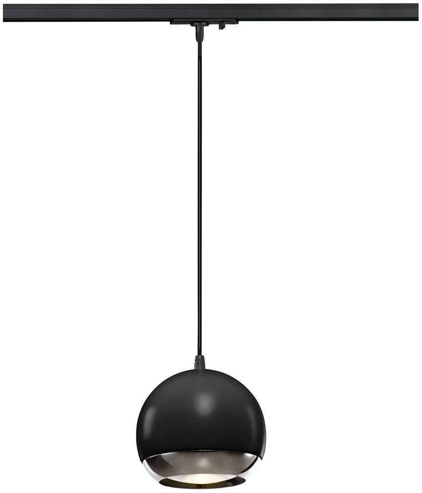 Svítidla do lištových systémů (230 V) - SLV GU10, černá, chrom