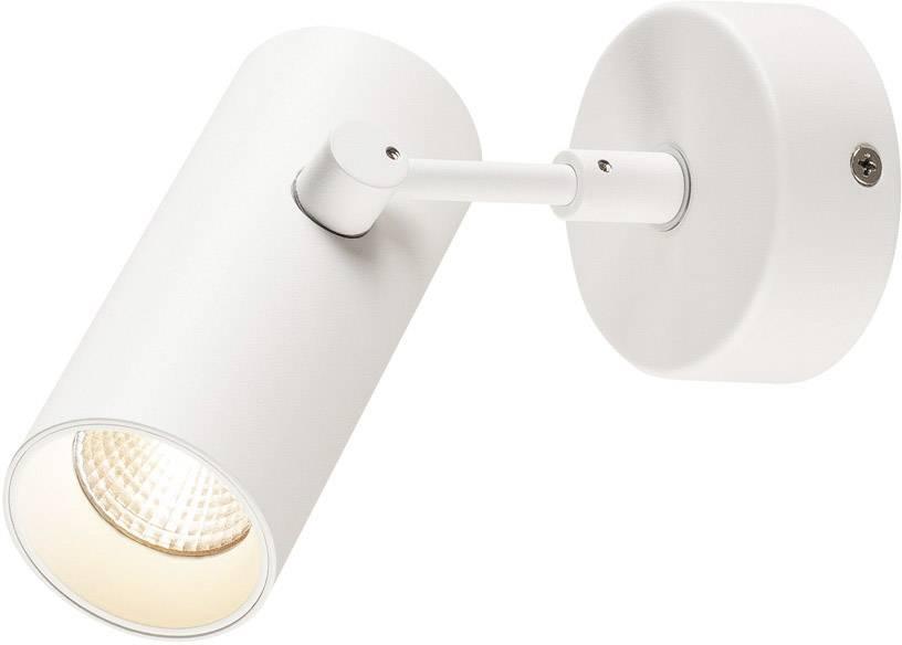 LED stropní svítidlo SLV 1000903, 9.5 W, Vnější Ø 5 cm, bílá, bílá