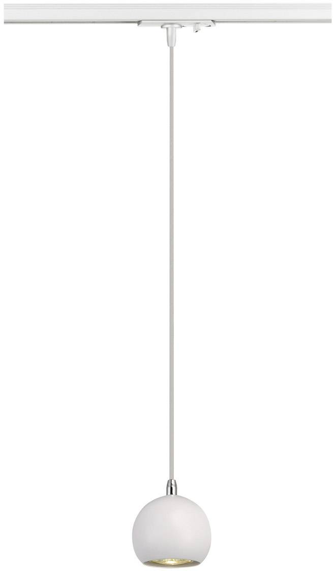 Svítidla do lištových systémů (230 V) - SLV GU10, bílá, chrom