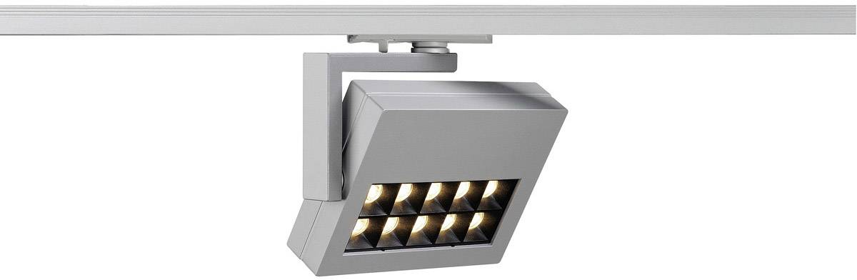 Svítidla do lištových systémů (230 V) - SLV 18 W, stříbrnošedá
