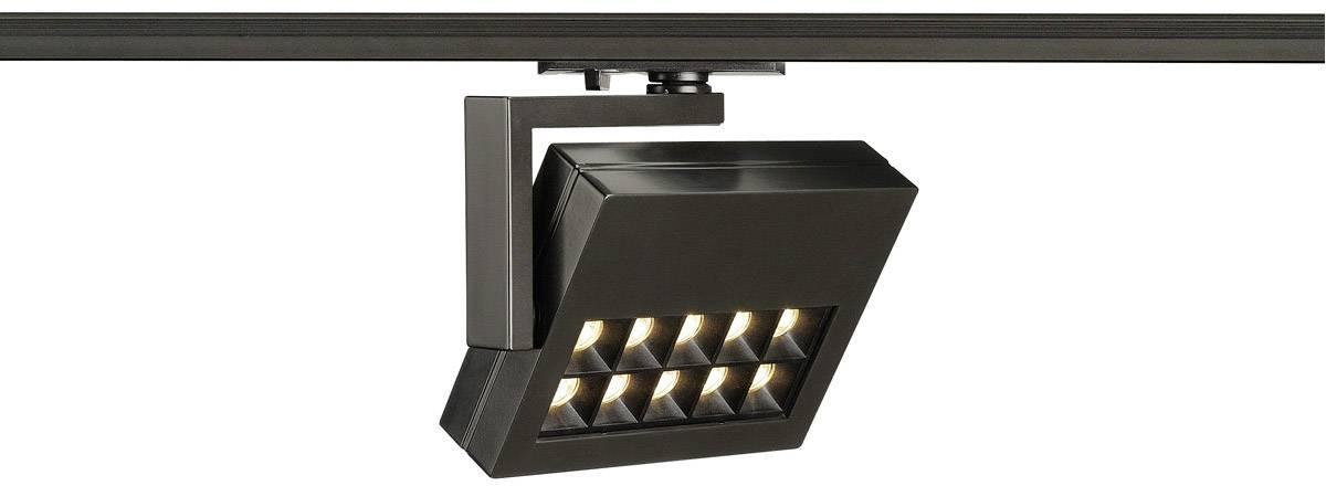 Svítidla do lištových systémů (230 V) - SLV 18 W, černá