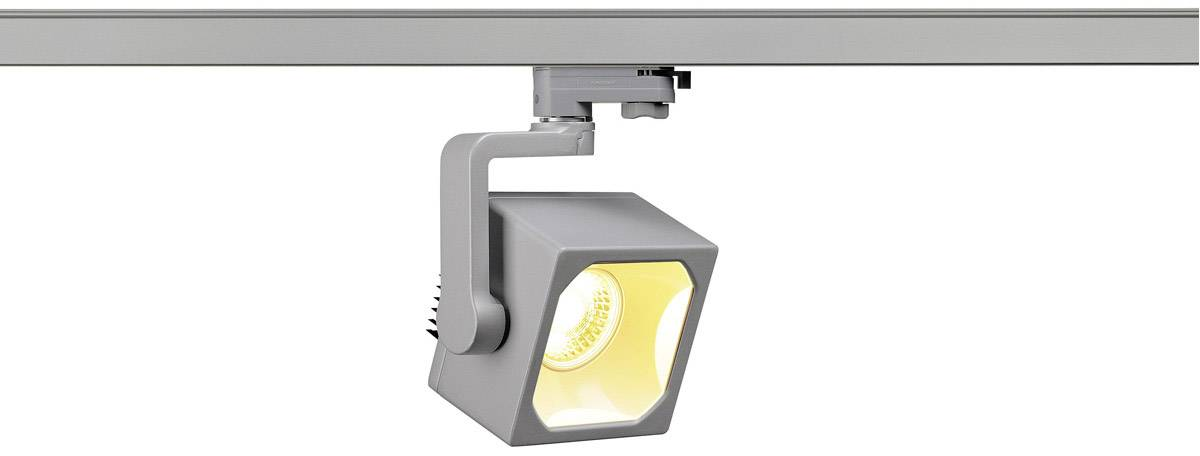 Svítidla do lištových systémů (230 V) SLV 152744, 28.5 W, stříbrnošedá