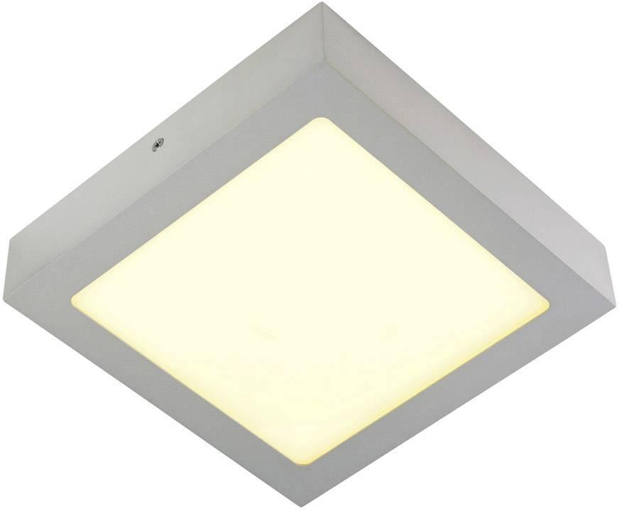 LED stropní svítidlo SLV 163013, 18 W, stříbrnošedá, stříbrnošedá