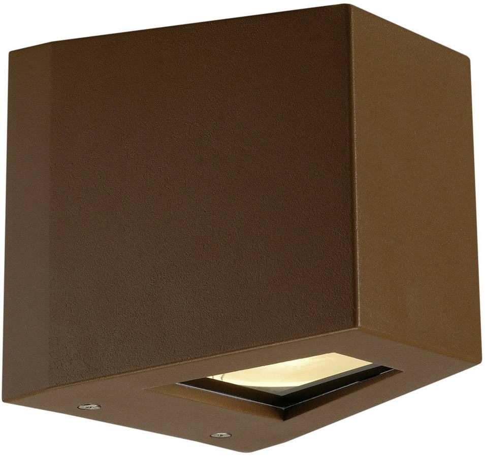 Venkovní nástěnné LED osvětlení SLV 229667, 18 W, rezavá, rezavá