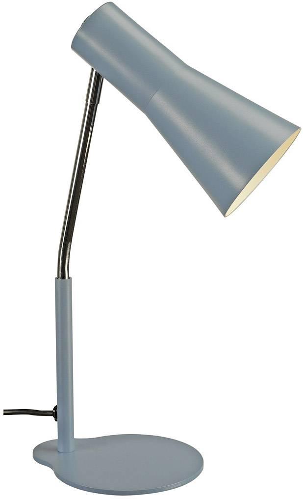Lampička na stůl halogenová žárovka, LED GU10 35 W SLV Phelia světle modrá