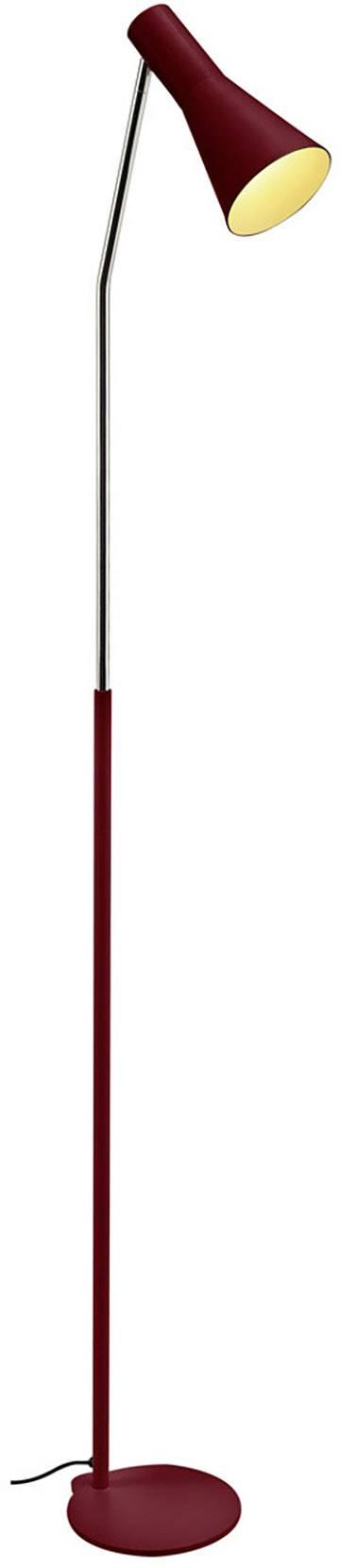 Stojanová lampa halogenová žárovka, LED E27 23 W SLV Phelia 146016 vínově červená