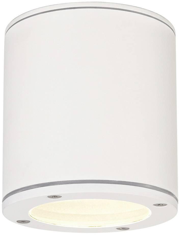 Venkovní stropní osvětlení LED, úsporná žárovka GX53 9 W SLV Sitra 231541 bílá