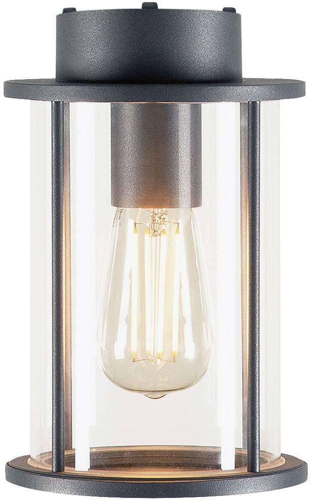 Venkovní stropní osvětlení LED E27 60 W SLV Photonia 232055 antracitová