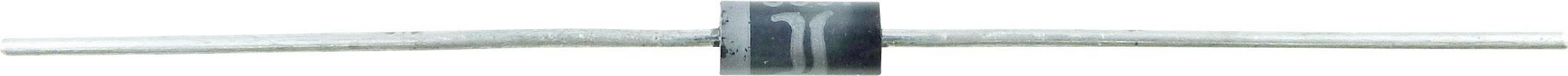 TVS dioda Diotec P6KE15CA, U(Db) 14,3 V, U(B) 12 V, I(PP) 28 A