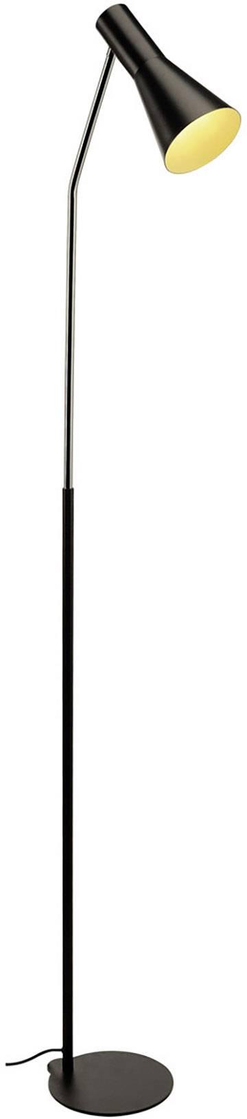 Stojanová lampa halogenová žárovka, LED E27 23 W SLV Phelia 146010 černá