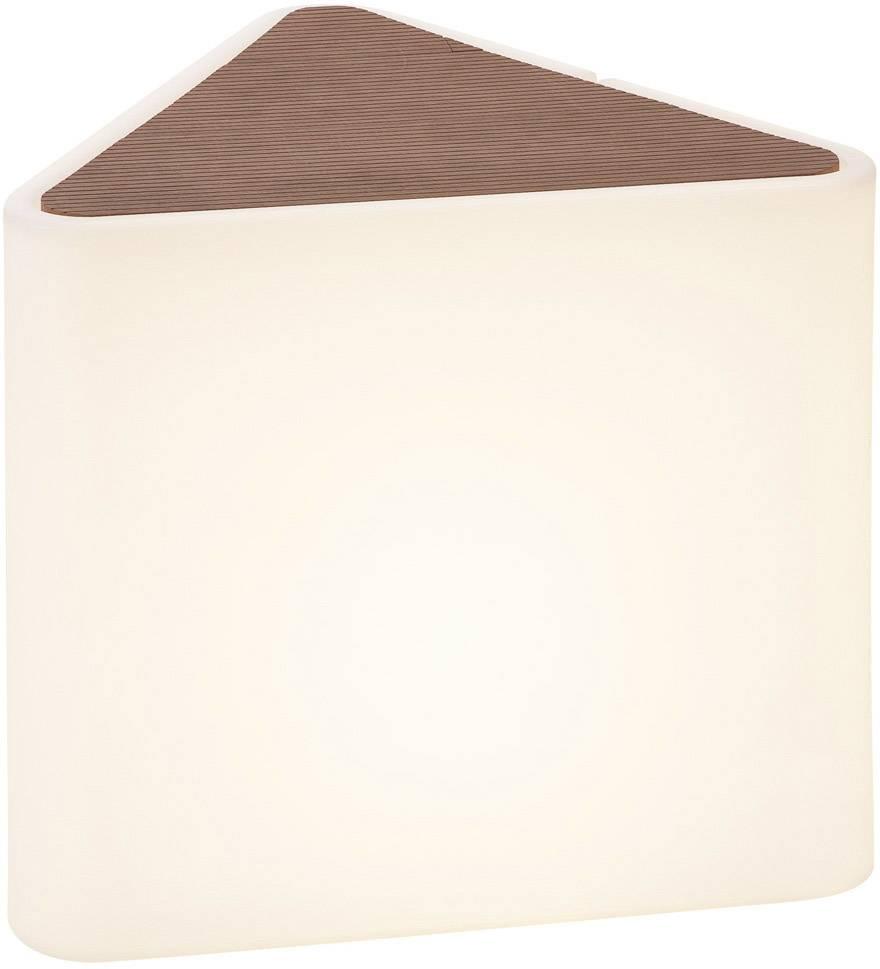 LED venkovní stojací osvětlení SLV Kenga 227550, pevně vestavěné LED, 24 W, bílá