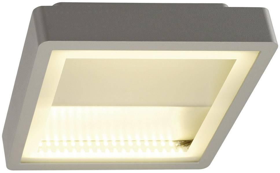 Venkovní stropní LED osvětlení SLV 230894, 15 W, stříbrná, stříbrná