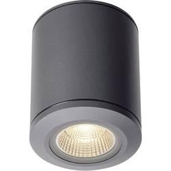 Venkovní stropní LED osvětlení SLV 1000447, 28 W, antracitová, antracitová