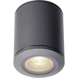 Venkovní stropní LED osvětlení SLV 1000447, 28 W, antracitová
