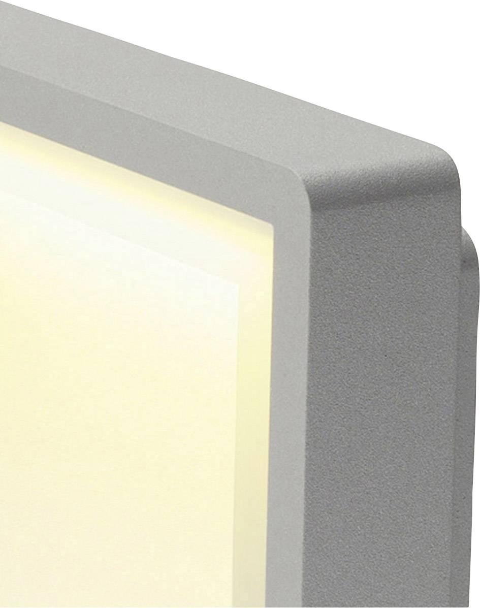 Venkovní stropní LED osvětlení SLV 230884, 8.3 W, stříbrná, stříbrná