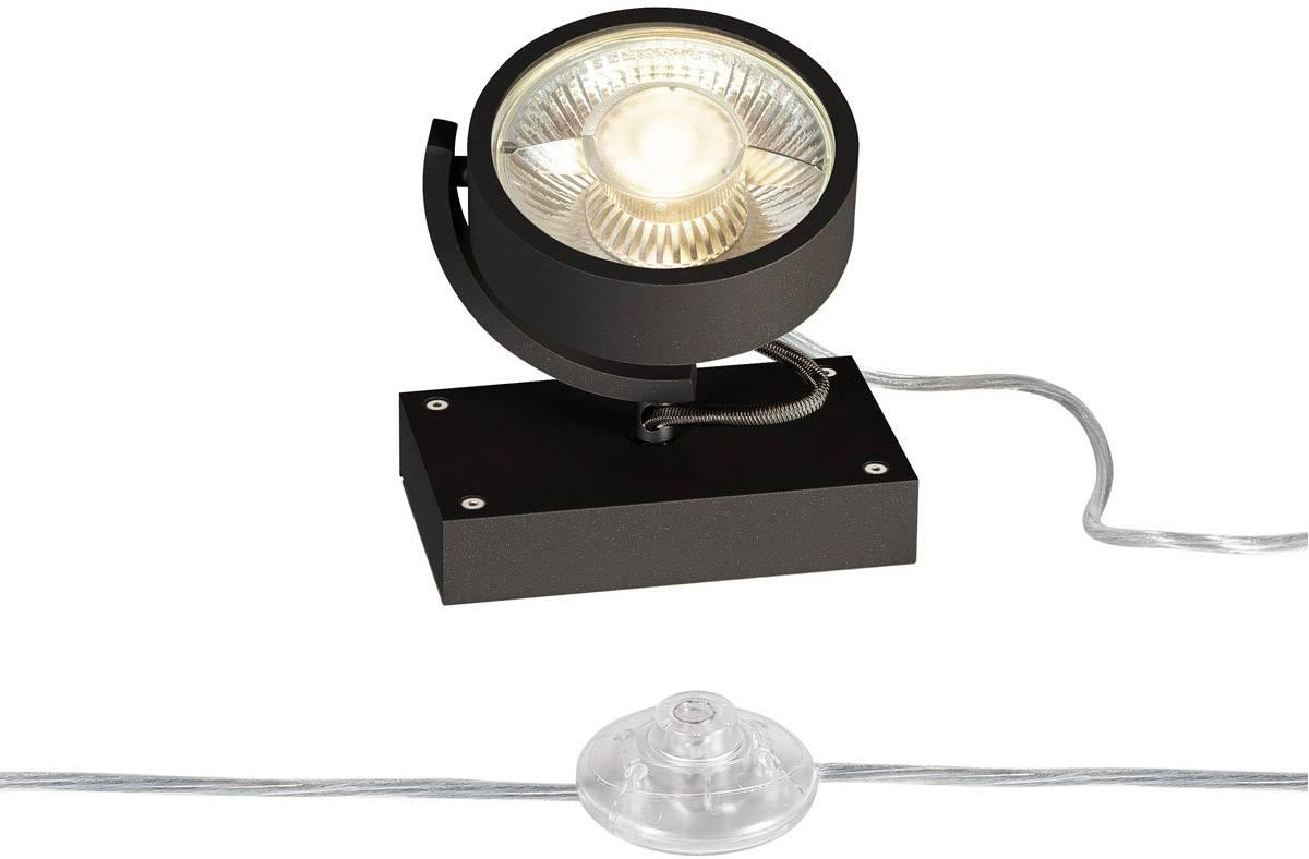 Stojanová lampa GU10 SLV 1000722 černá