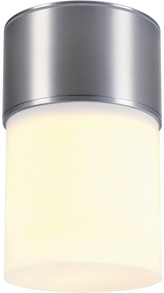 Venkovní stropní osvětlení LED, úsporná žárovka E27 20 W SLV Rox 1000338 hliník (eloxovaný)