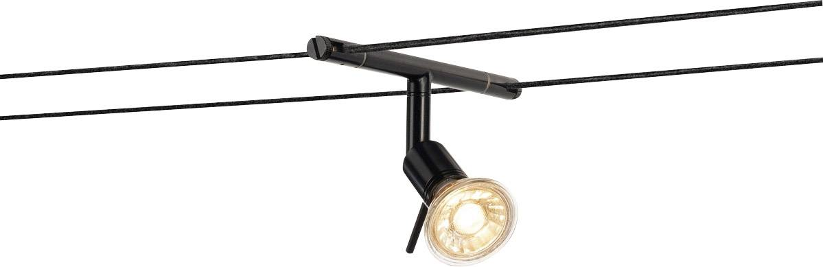 Systém nízkonapěťových lankových světel GX5.3 SLV černá