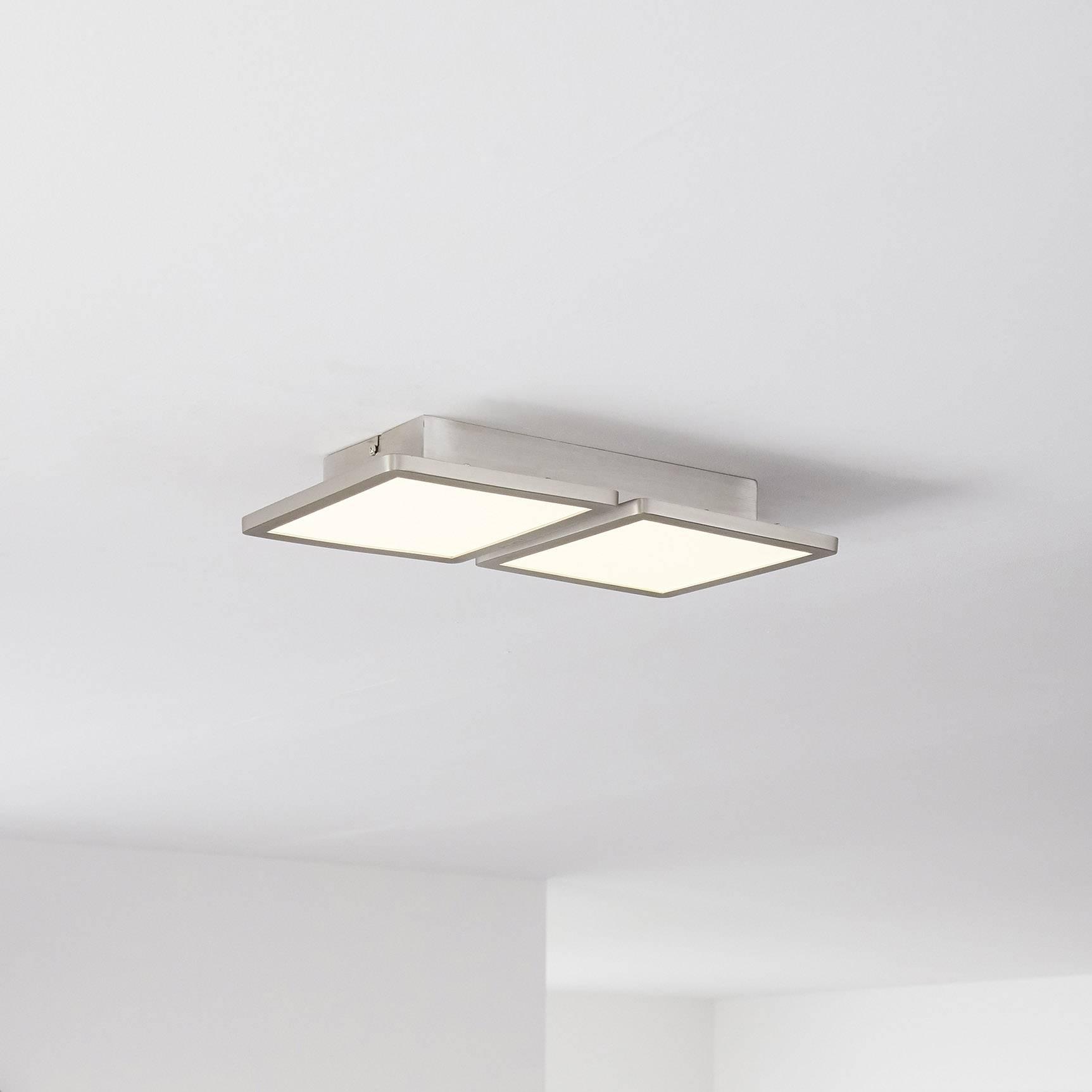 LED stropní a nástěnné svítidlo Brilliant WiZ Scope WiZ, pevně vestavěné LED, teplá bílá, neutrálně bílá, denní světlo