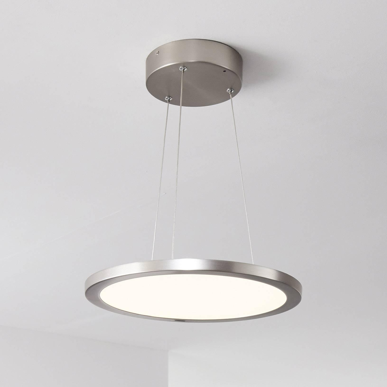 LED závěsná lampa Brilliant WiZ Smooth, pevně vestavěné LED, 30 W, teplá bílá, neutrálně bílá, denní světlo