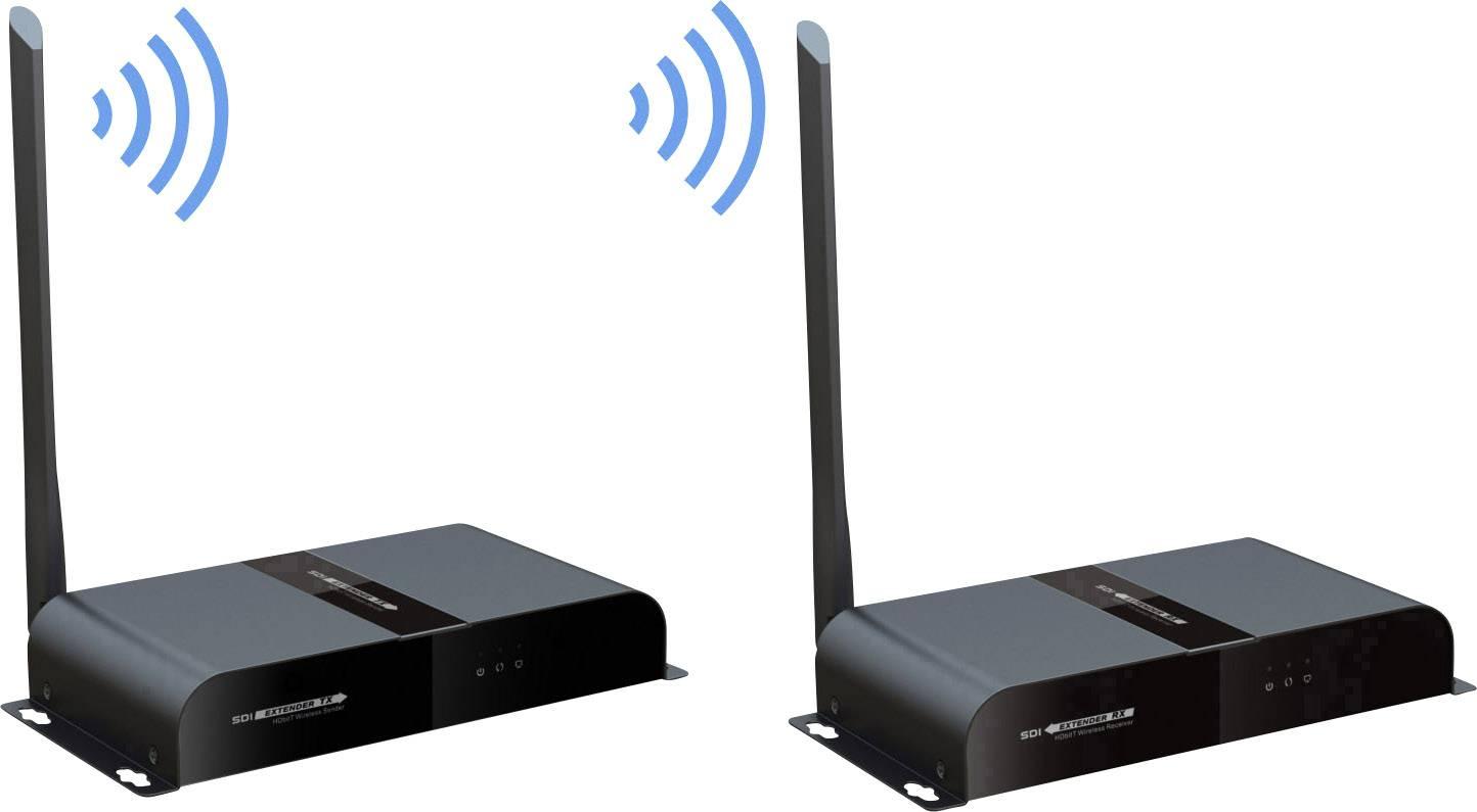 Sada pro SDI bezdrátový přenos SpeaKa Professional SP-SDFS-01, 200 m