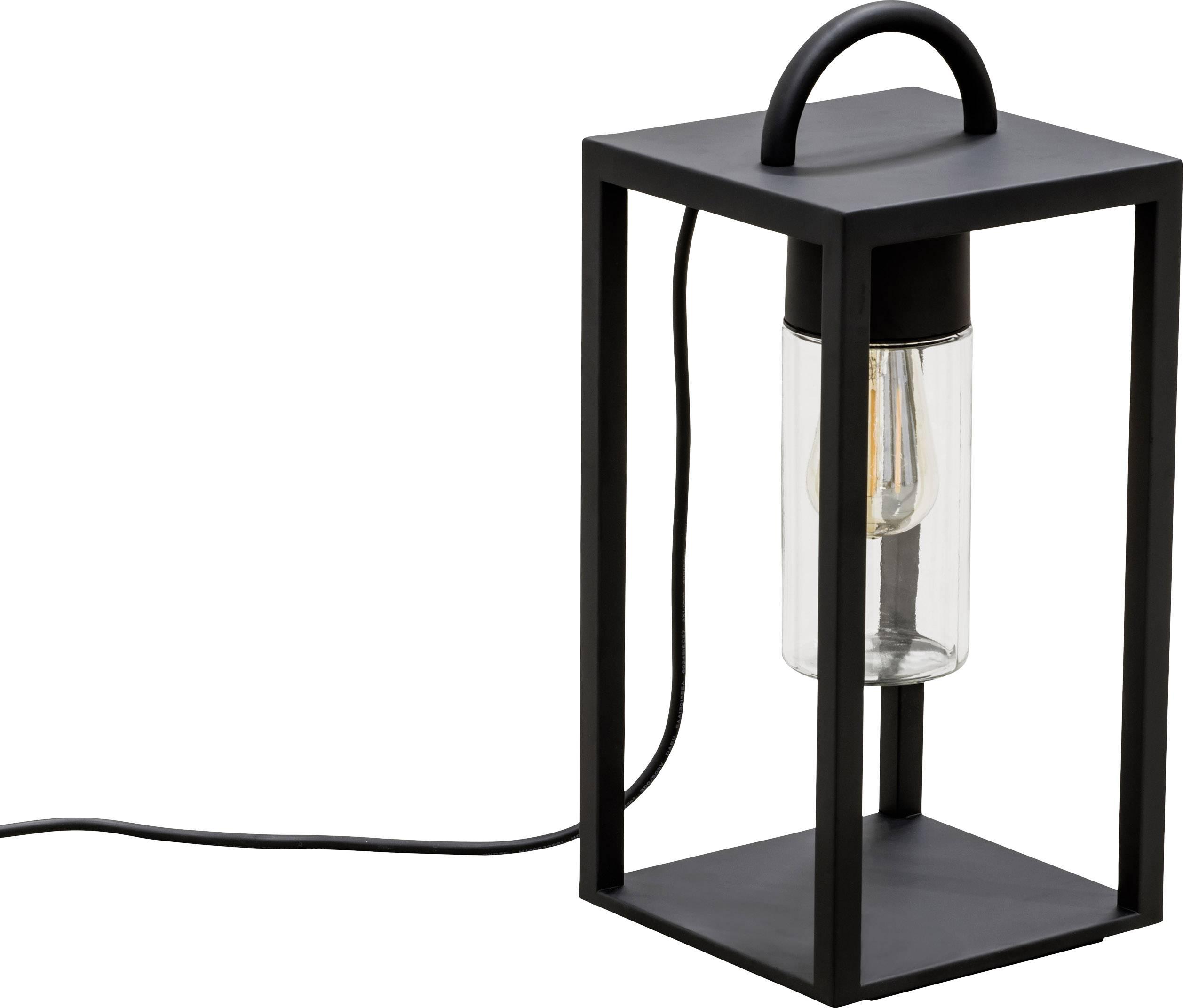 LED lucerna, zahradní osvětlení Konstsmide Bologna 7532-750, E27, 40 W, černá