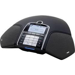Konferenční telefon DECT/GAP, VoIP Konftel 300Wx (mit DECT Basis) černá, stříbrná