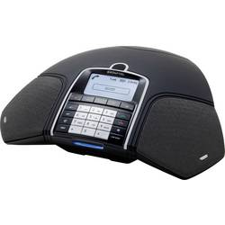 Konferenční telefon DECT/GAP, VoIP Konftel 300 Wx (ohne DECT-Basisstation) černá, stříbrná