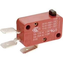 Mžikový spínač Marquardt 01005.2801-01, 250 V/AC, 10 A, červená, 1 ks