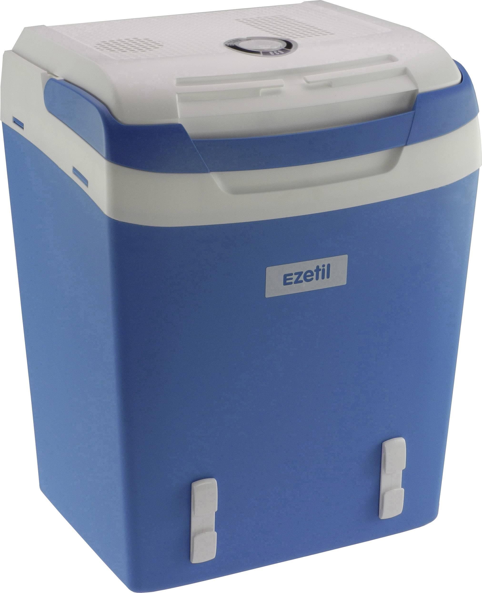 Přenosná lednice (autochladnička) Ezetil E32M 12/230V ssbf, 230 V, 12 V, 29 l, modrá