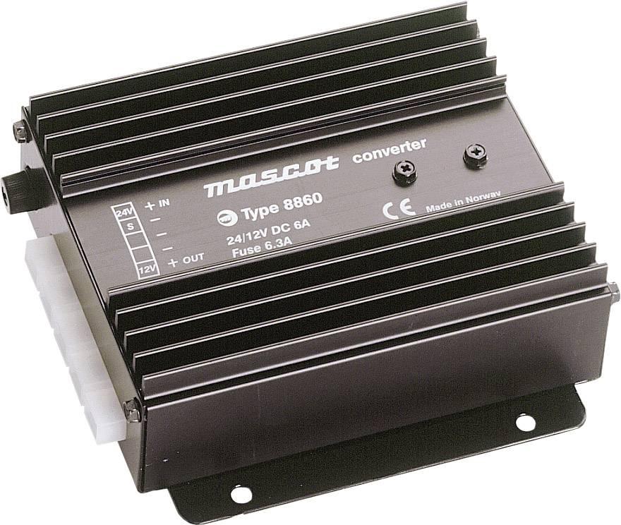 DC/DC měnič napětí do auta Mascot 8860 12 V/DC/6 A