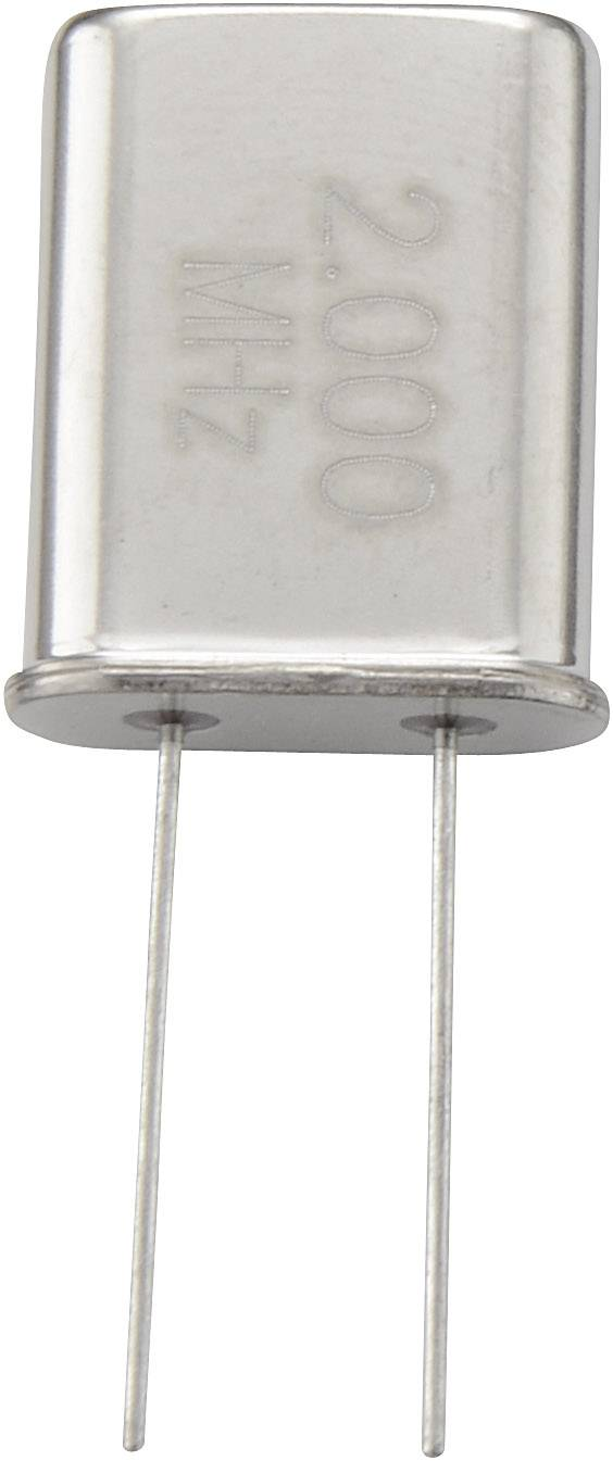 Krystal, 2 MHz, HC-18U/49U