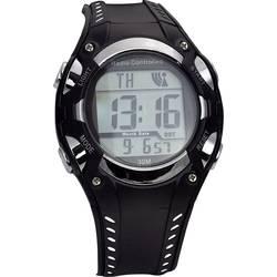 Náramkové hodinky EUROTIME 1681987, (Ø x v) 40 mm x 16 mm, čierna/strieborná