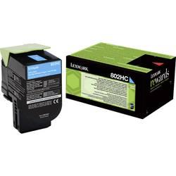 Lexmark toner 802HC CX410 CX510 80C2HC0 originál azurová 3000 Seiten