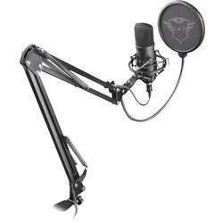 Trust GXT 252+ Emita Plus PC mikrofon černá kabelový vč. stativu, vč. svorky