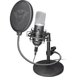 Trust GXT 252 Emita PC mikrofon černá kabelový stojan