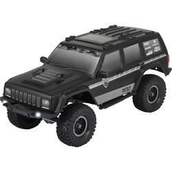 RC model auta Reely Free Men, komutátorový, 1:10, elektrický crawler 4WD (4x4), 100% RTR, 2,4 GHz, vr. akumulátorov, nabíjačky a batérie ovládača