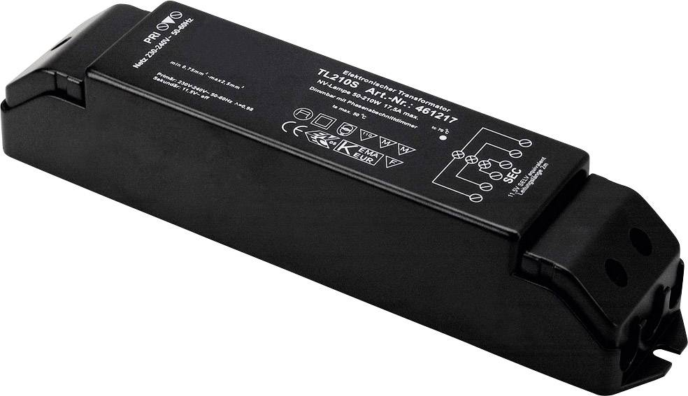 Transformátor pro halogenové osvětlení SLV 461217, 210 W, 12 V/AC