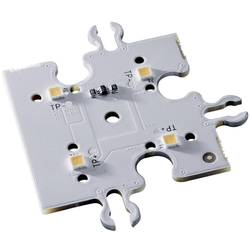 Plochá LED Lumitronix 31848 (d x š x v) 40 x 40 x 4.64 mm, teplá bílá